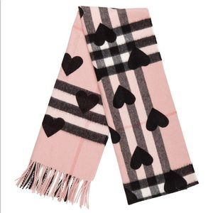 Burberry Heart Scarf